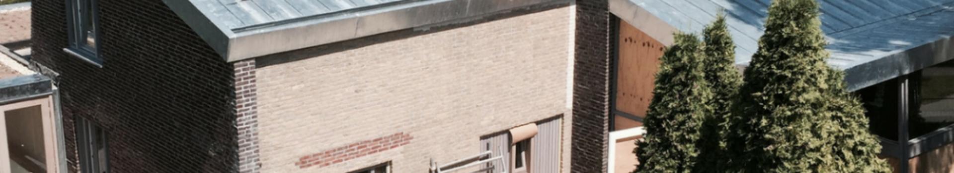 Woonhuis Dordrecht, zink in felssysteem